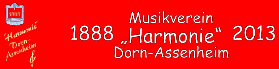 """Musikverein """"Harmonie"""" Dorn-Assenheim"""